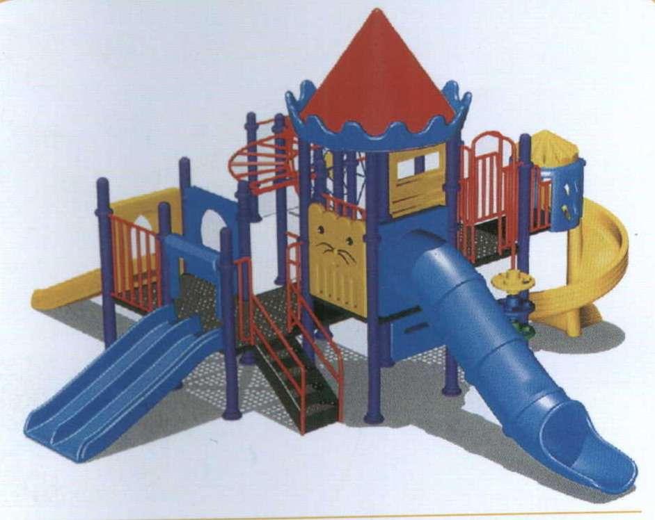 幼儿飞机滑梯玩具